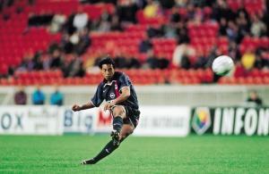 Frappe de Ronaldinho