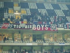 Les supporters parisiens présents à Porto