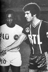 Mustapha Dahleb et Pelé