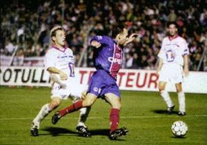 Yann Lachuer en bonne position