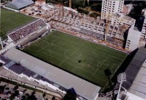 Le stade de Bessa en travaux