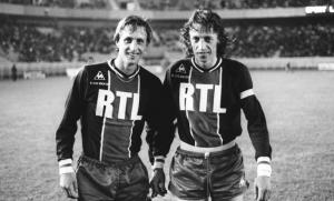 Jean-Pierre Dogliani et Johann Cruijff