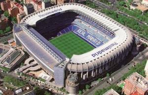 Le stade Santiago-Bernabeu