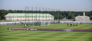 Les nouveaux terrains d'entraînement du Camp des Loges