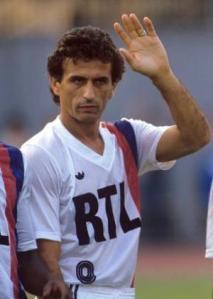 Maillot domicile 1986-87