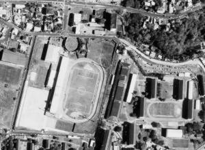 Vue aérienne du Stade Louis-Achille