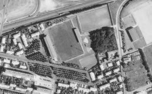 Vue aérienne du Stade François-Le-Parco