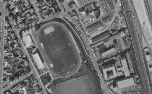 Vue aérienne du Stade Gabriel-Péri