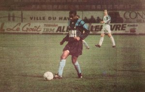 Le Havrais Kana Biyik (HAC Foot Archives)