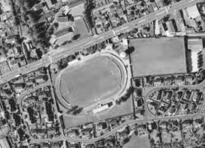 Vue aérienne du Stade de la Falaise