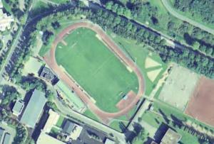 Vue aérienne du Stade Gilbert-Chansac