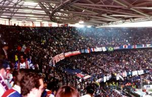Le virage des fans parisiens