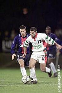 Pierre Ducrocq met la pression sur un adversaire (G. Ber)