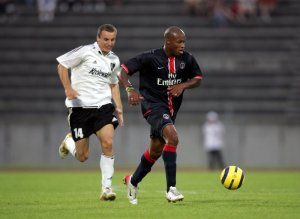 Fabrice Pancrate balle au pied