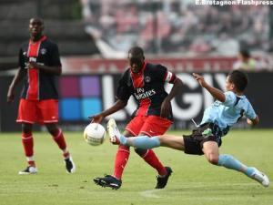 Youssouf Mulumbu, promu capitaine pour ce match (E. Bretagnon)