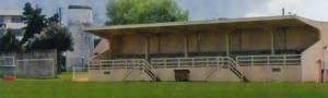 La tribune du Stade Paul-Audrin