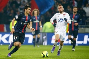 Photo Ch. Gavelle, psg.fr (image en taille et qualité d'origine: http://www.psg.fr/fr/Actus/105003/Galeries-Photos#!/fr/2015/3169/58061/match/Lyon-Paris-2-1/Lyon-Paris-2-1)