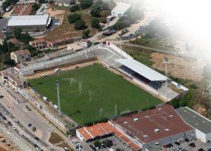 Le stade Ange-Casanova juste avant les aménagements de 2016