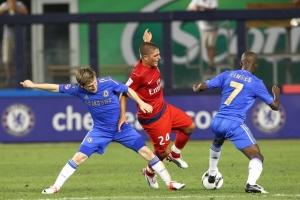 La toute première apparition de Verratti sous nos couleurs, face à Chelsea en 2012