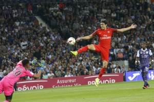 Photo Ch. Gavelle, psg.fr (image en taille et qualité d'origine: http://www.psg.fr/fr/Actus/105003/Galeries-Photos#!/fr/2016/3681/63528/match/Toulouse-Paris-2-0/Toulouse-Paris-2-0)