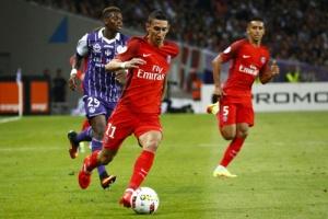 Photo Ch. Gavelle, psg.fr (image en taille et qualité d'origine: http://www.psg.fr/fr/Actus/105003/Galeries-Photos#!/fr/2016/3681/63528/match/Toulouse-Paris-2-0/Toulouse-Paris-2-0)