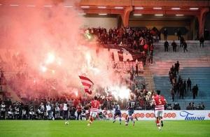 L'ambiance chaude du Stade Olympique (F. Faugère)