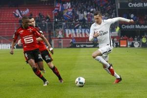 Photo Ch. Gavelle, psg.fr (image en taille et qualité d'origine: http://www.psg.fr/fr/Actus/105003/Galeries-Photos#!/fr/2016/3694/66756/match/Rennes-Paris-0-1/Rennes-Paris-0-1)